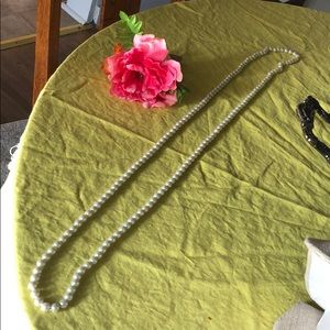 Jewelry - Super long strand pearl necklace